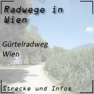 Radweg Gürtelradweg Wien