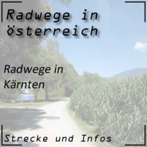 Radwege in Kärnten