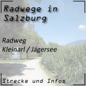 Radweg Kleinarl und Jägersee