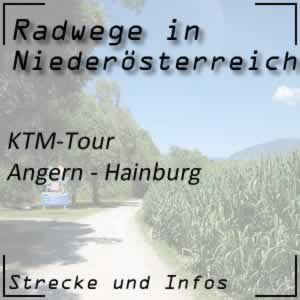 Radweg KTM-Tour Angern - Hainburg