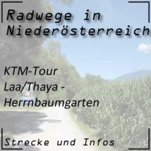 Radweg KTM-Tour Laa an der Thaya - Herrnbaumgarten