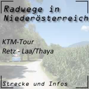 Radweg KTM-Tour Retz - Laa an der Thaya