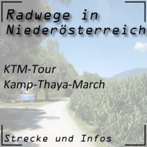Radweg KTM-Tour oder Kamp-Thaya-March-Tour