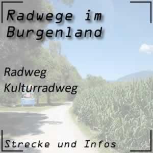 Radweg Kulturradweg bei Gols