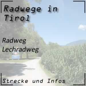 Radweg Lechradweg in Tirol