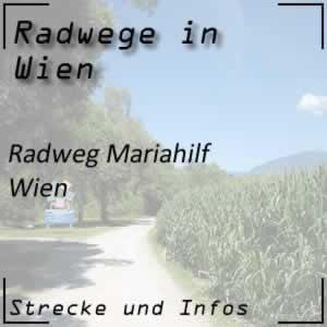 Radweg Mariahlfer Straße Wien