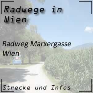 Radweg Marxergasse Wien