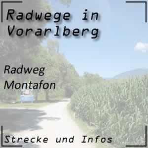 Radweg Montafon von Partenen bis Lorüns