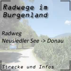 Radweg Neusiedler See bis Donau oder Entdeckertour