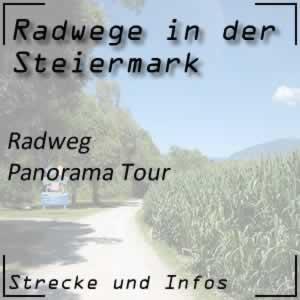 Panorama Tour Radweg in der Steiermark