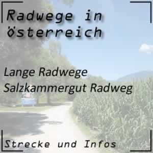 Salzkammergut Radweg in Österreich