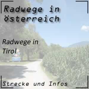 Radwege in Tirol