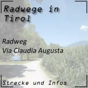 Radweg Via Claudia Augusta
