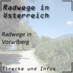 Radwege in Vorarlberg