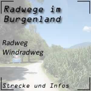 Radweg Windradweg Neusiedl am See