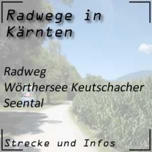 Radweg Wörthersee und Keutschacher Seental
