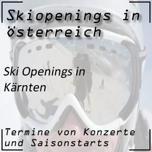 Ski Opening in Kärnten