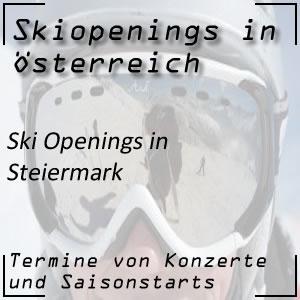 Ski Opening in der Steiermark