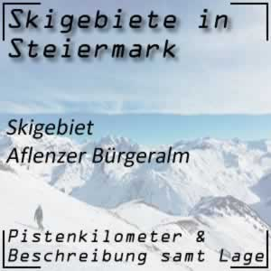 Skigebiet Aflenzer Bürgeralm Hochschwab