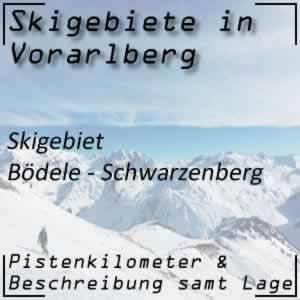 Skigebiet Bödele Schwarzenberg