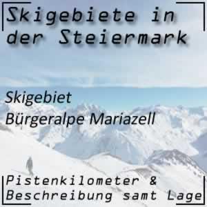 Skigebiet Bürgeralpe Mariazell
