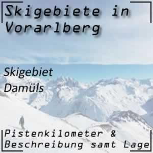 Skigebiet Damüls