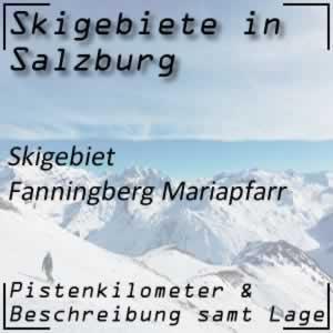 Skigebiet Fanningberg Mariapfarr