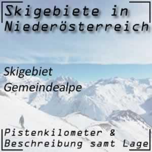Skigebiet Gemeindealpe Mitterbach