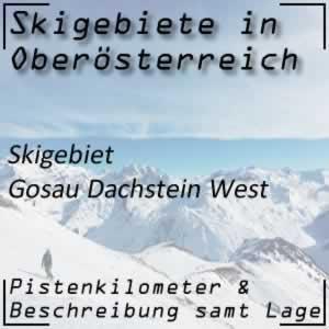 Skigebiet Gosau Dachstein West
