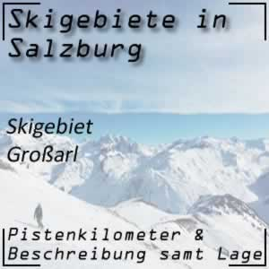 Skigebiet Großarl Tal in Salzburg