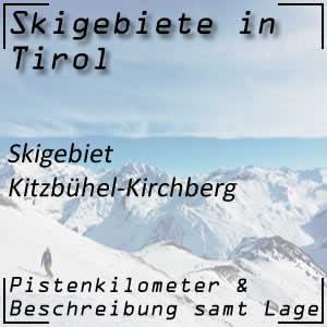 Skigebiet Kitzbühel - Kirchberg