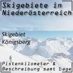 Skigebiet Königsberg Hollenstein