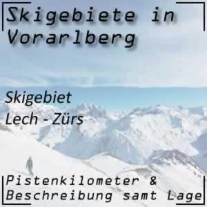 Skigebiet Lech-Zürs