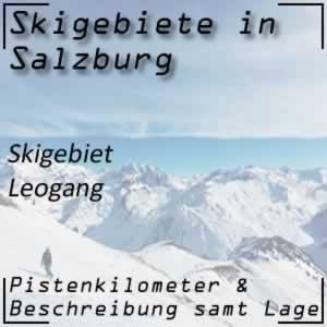 Skigebiet Leogang Saalbach