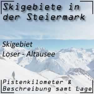 Skigebiet Loser - Altaussee