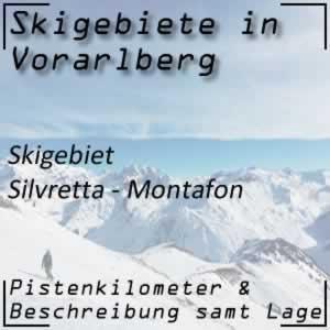 Skigebiet Silvretta - Montafon