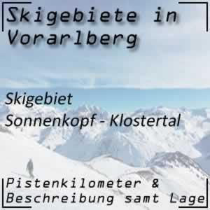 Skigebiet Sonnenkopf Klösterle