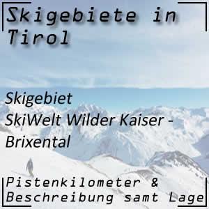 Skigebiet Wilder Kaiser - Brixental