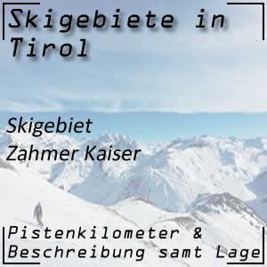 Skigebiet Zahmer Kaiser