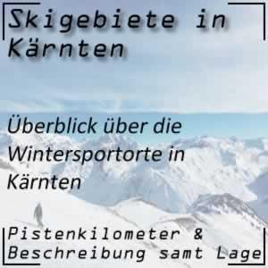 Skigebiete Kärnten