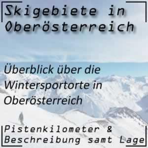 Skigebiete Oberösterreich
