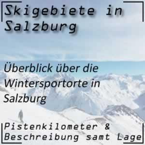 Skigebiete Salzburg