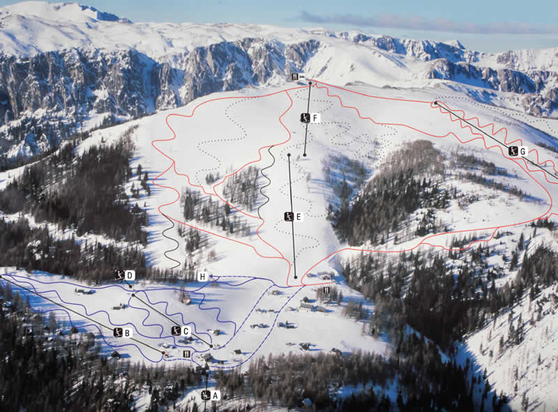 Skigebiet Aflenzer Bürgeralm