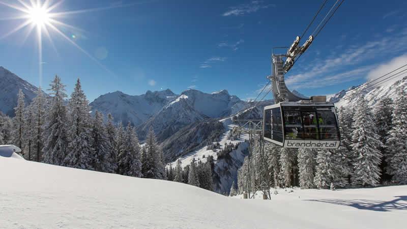 Skigebiet Brandnertal Vorarlberg