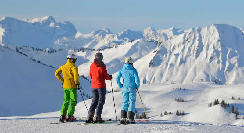 Skigebiet Damüls Vorarlberg