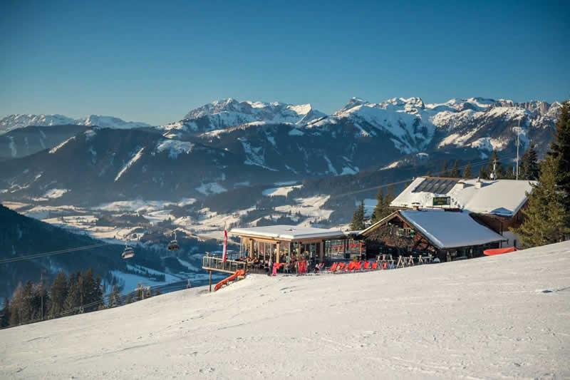Skigebiet Eben Monte Popolo Salzburg