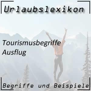 Ausflug im Tourismus