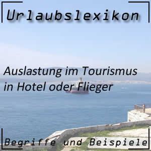Auslastung im Tourismus