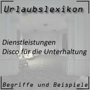 Disco im Hotel