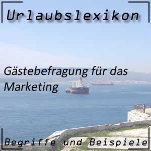 Gästebefragung für das Marketing